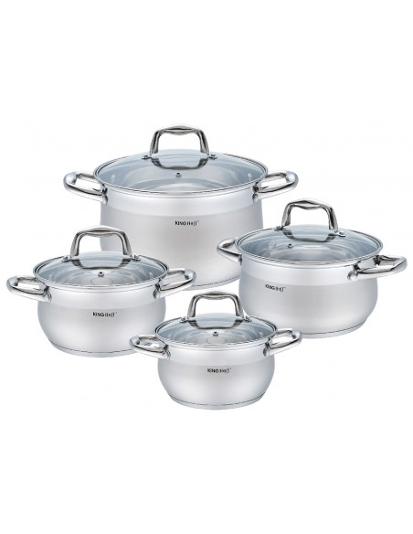 8 pcs cookware set : KH-1421