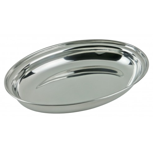 Deep steel oval dish - Kinghoff : KH-1383