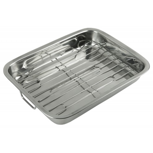 Baking tray with handles and grill - Kinghoff : KH-1377