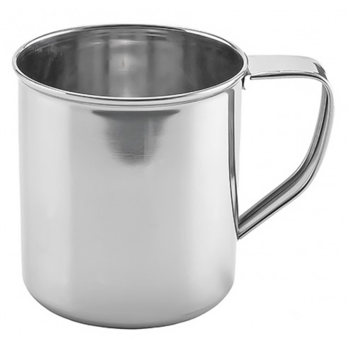 Stainless steel mug with handle - Kinghoff : KH-1481