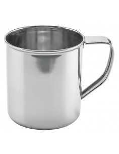 Stainless steel mug with handle - Kinghoff : KH-1482