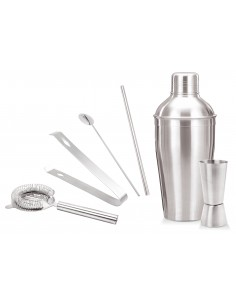 Cocktail shaker set, 6-pieces - Kinghoff : KH-1392